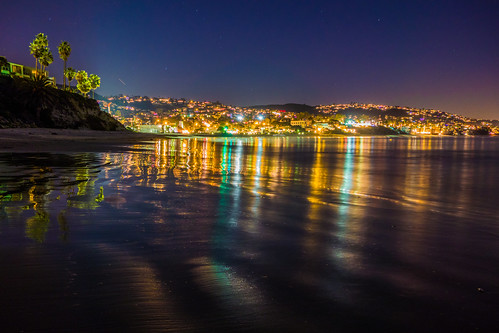 california usa beach night socal nightview hdr lagunabeach hdri heislerpark highdynamicrangeimaging sonydscrx100