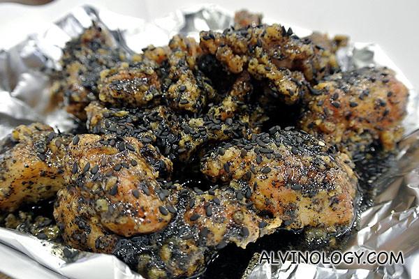 Black Sesame Chicken
