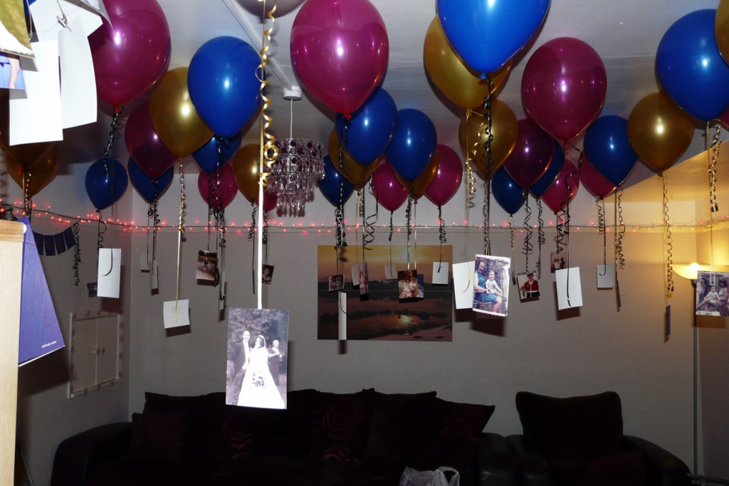 40th birthday party ideas for husband at home for 40th birthday decoration