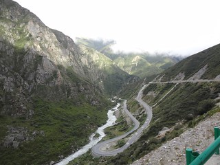 Guia de Viagem Dia 1: Kathmandu 1300m - Zangmu 2300m - Nyalam 3750m