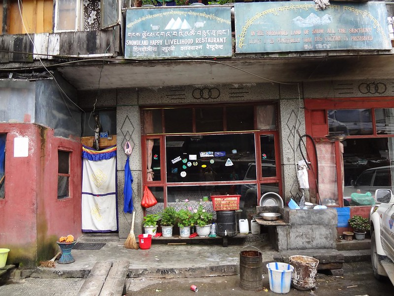 Restaurante Snowland Happy Livelihood em Zangmu Tibete