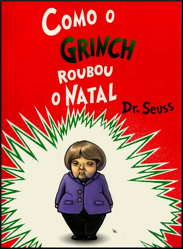Como O Grinch Roubou O Natal - How The Grinch Stole Christmas (in Portuguese) by Teacher Dude's BBQ
