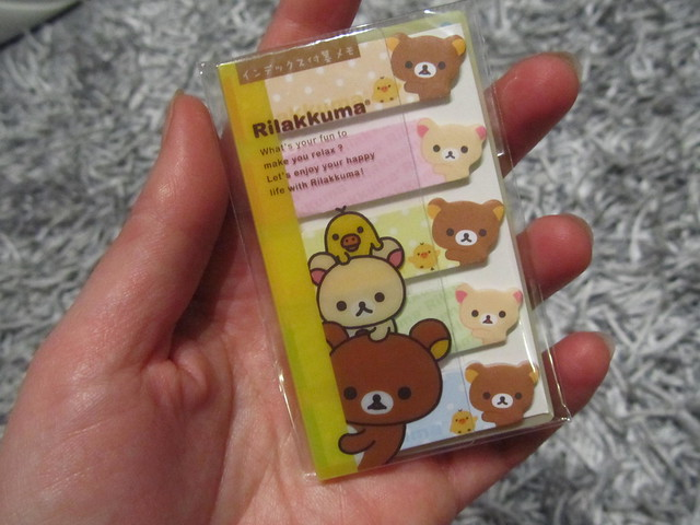 Rilakkuma post-its