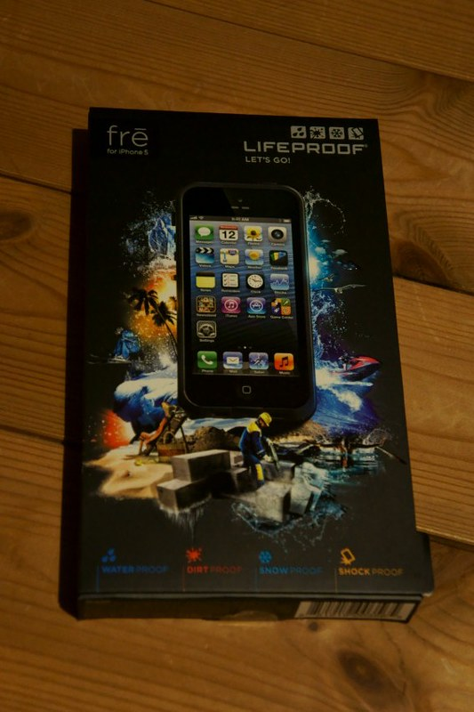 LifeProof fre iPhone 5 Case DSC04460