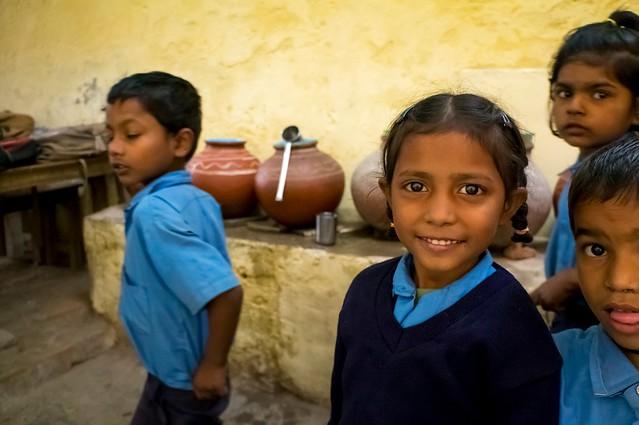 Slum-School Students