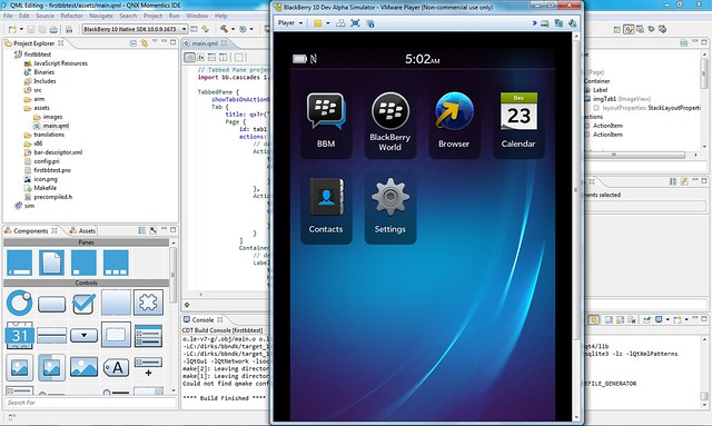 lanzamiento SDK de BlackBerry 10.2