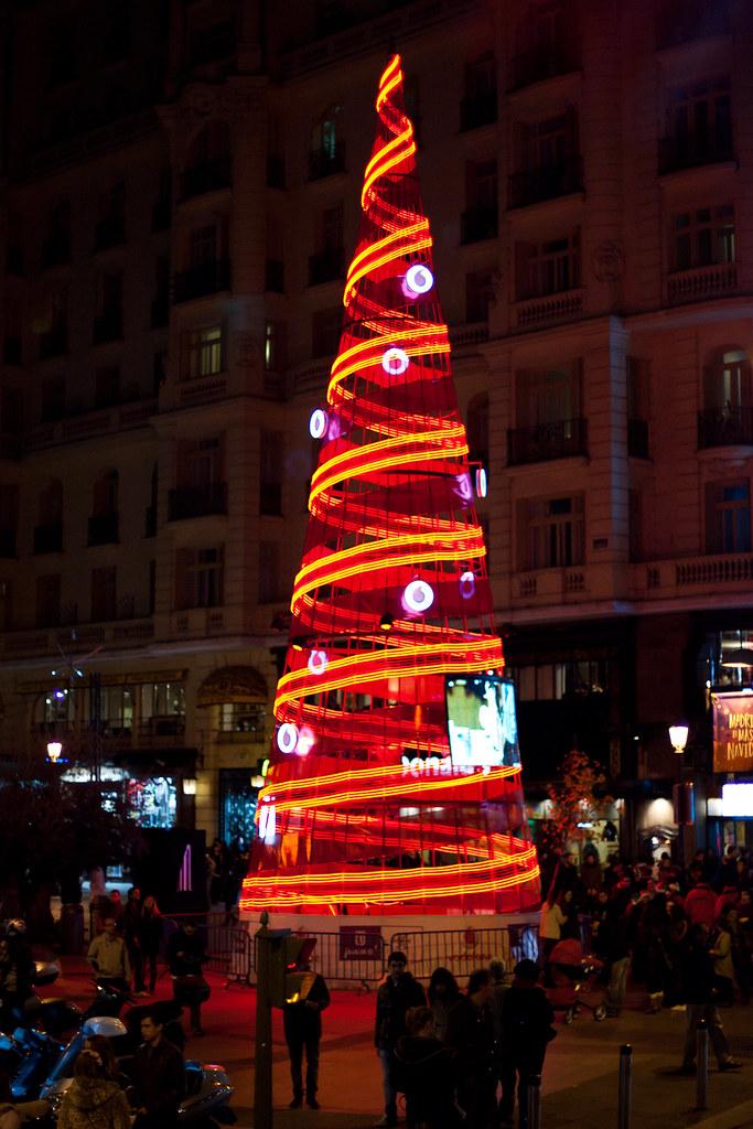 Plaza de Callao, Natal em Madri