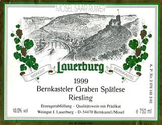 1999 - Bernkasteler Graben (Mosel)