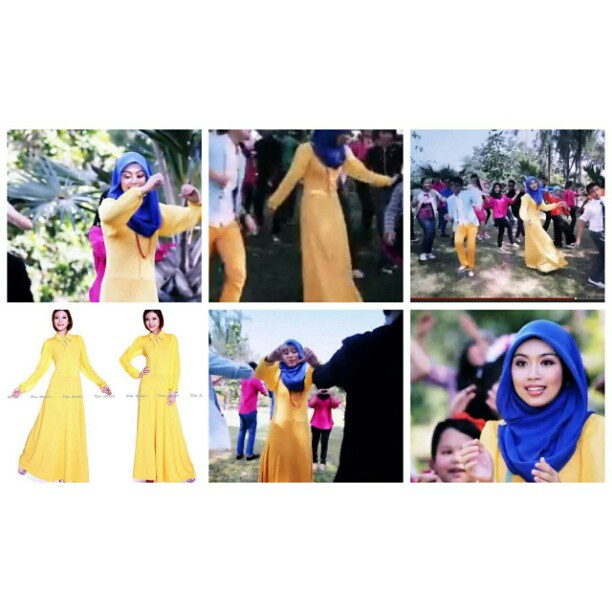 dress ni dalam video klip beliau di you tube :http://www.youtube ...