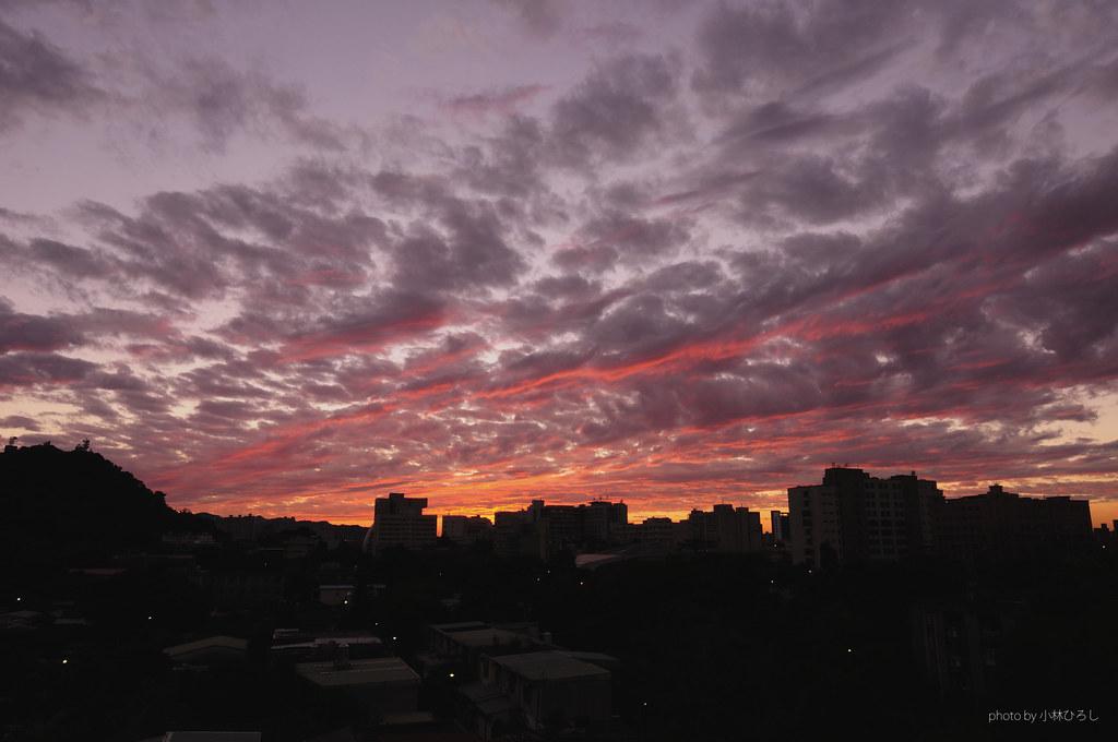 2012.12.25 火燒雲 @大安區