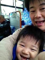 ハチ公バスで移動 2012/12/23
