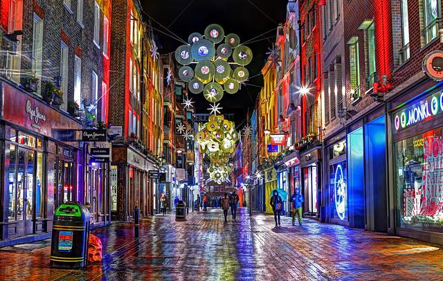 Carnaby Street Xmas Lights