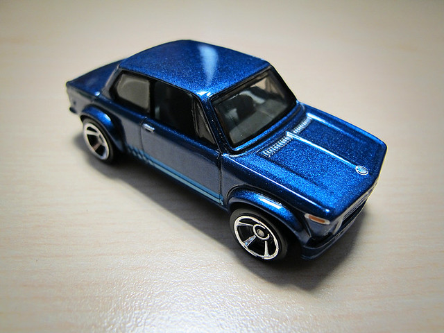 Hot Wheels - Blue 2002