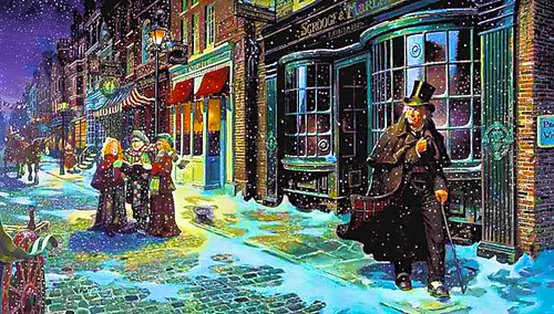 Christmas Carol Card