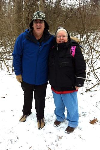 Day 4 Snowy Ian & Olivia