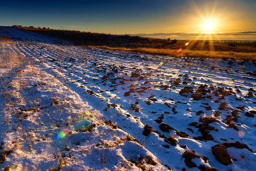 winter light sunset sun snow west rural canon landscape scenery country sigma idaho boise lensflare 7d western flare sunburst goldenhour 1750mm