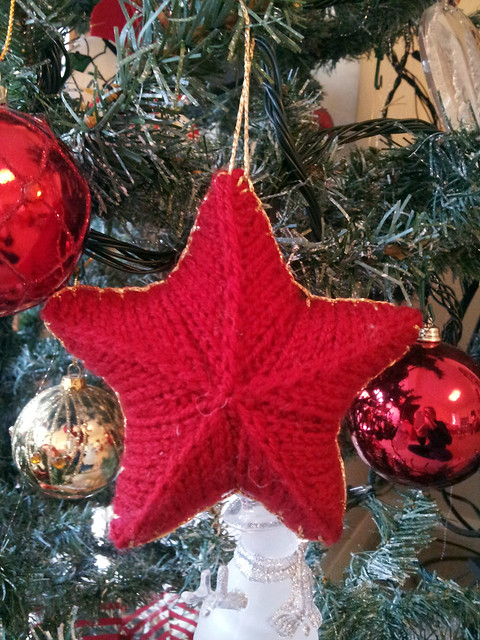 Christmas Star Bauble Craft