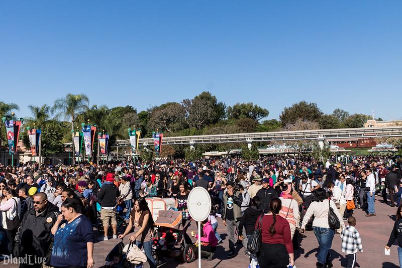 Disneyland Crowds In December | Calendar Template 2016