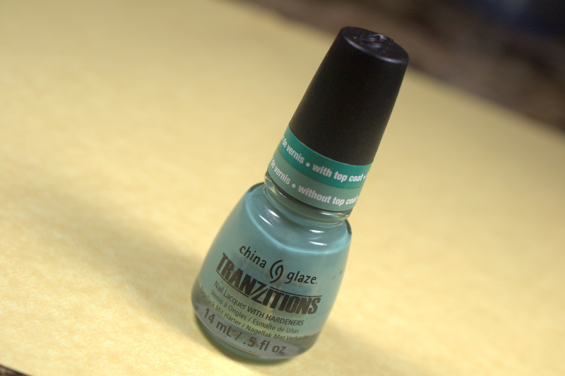 China Glaze Tranzitions nail polish collection