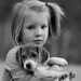 Little Girls and The Puppies Who Love Them