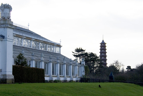 Kew Gardens - Glasshouse and Pagoda