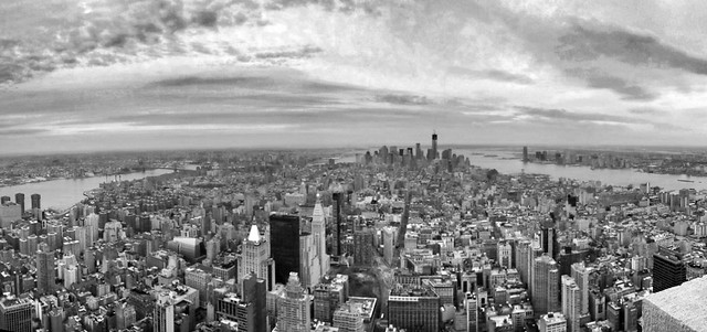 Good morning and happy new year from top of the world #NYC