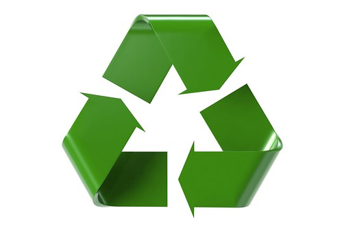 simbolo della raccolta differenziata e del riciclo