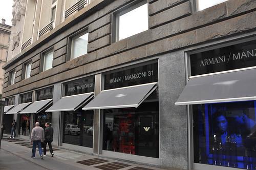 Shopping Armani