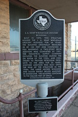 J.A. Kemp Wholesale Grocery Building, Wichita Falls, Texas Historical Marker