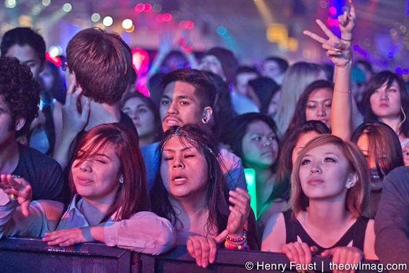 Zedd @ Fort Mason, SF, 12/28/2012
