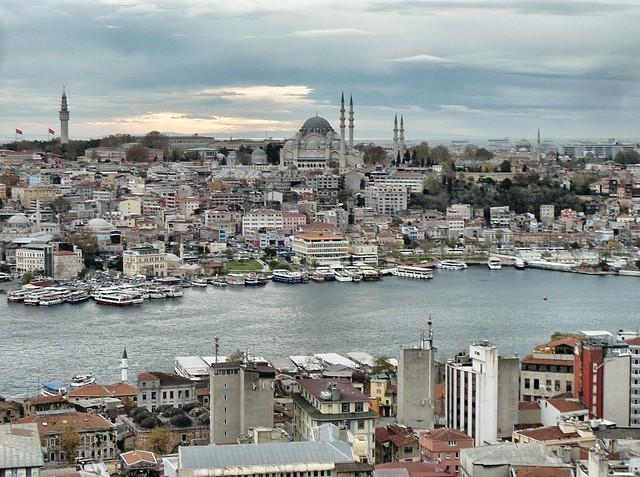 Vista desde Torre Galata