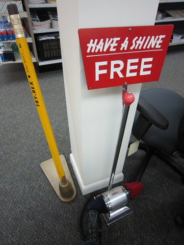 Free Shoe Shine Wytheville Office Supplies