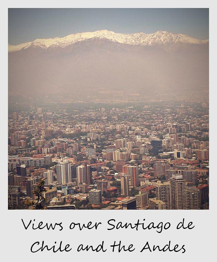 polaroid of the week chile santiago views