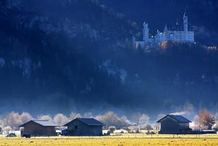 Schwanstein D - Le campagne ed il Castello
