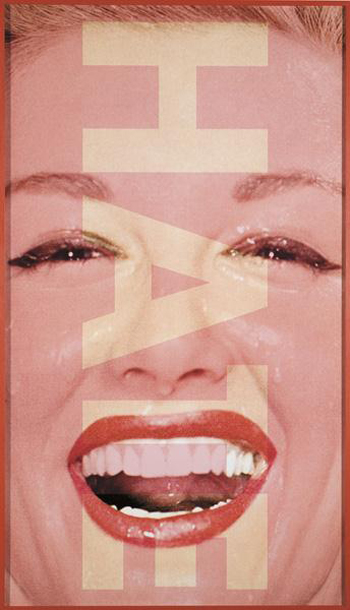 Barbara Kruger, Untitled (HATE), 2001 350x