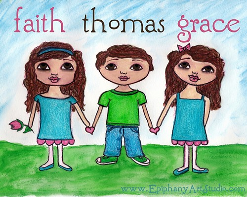 Faith, Grace, & Thomas