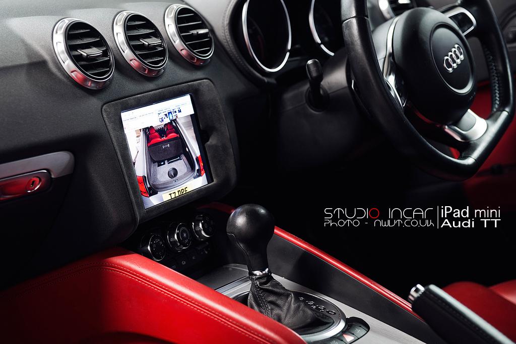 Ipad Mini in Audi TT
