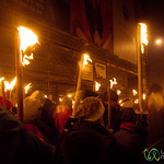 Edinburgh Torchlight Procession Gets Started