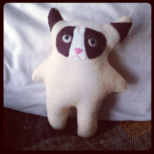 Grumpy cat plush by megan_n_smith_99