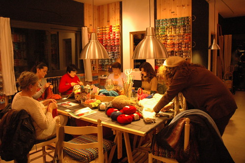 knitting club Ibiza