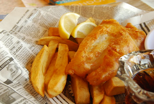 Modern Fish and Chips