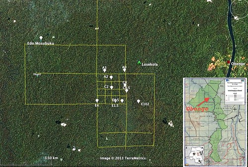 composite camera trap map
