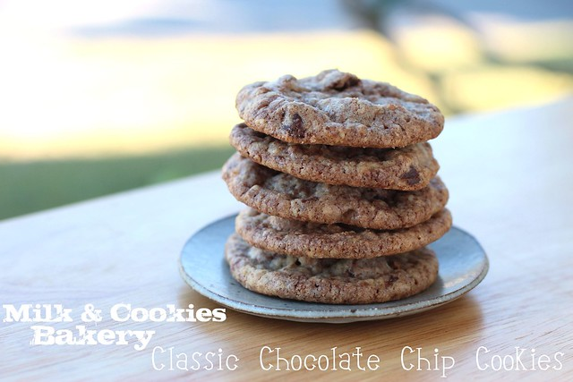 Milk & Cookies Bakery - Classic Chocolate Chip Cookies