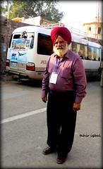 Sikh Yatri near Lahore Fort Punjab