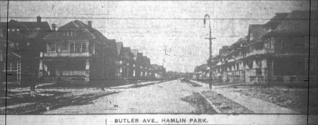 Butler Avenue at Wohlers (4-17-1917 Buffalo Express)