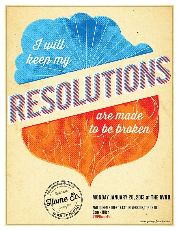HomeEc #13 (Jan 28, 2013)   Resolutions: Make em or Break em