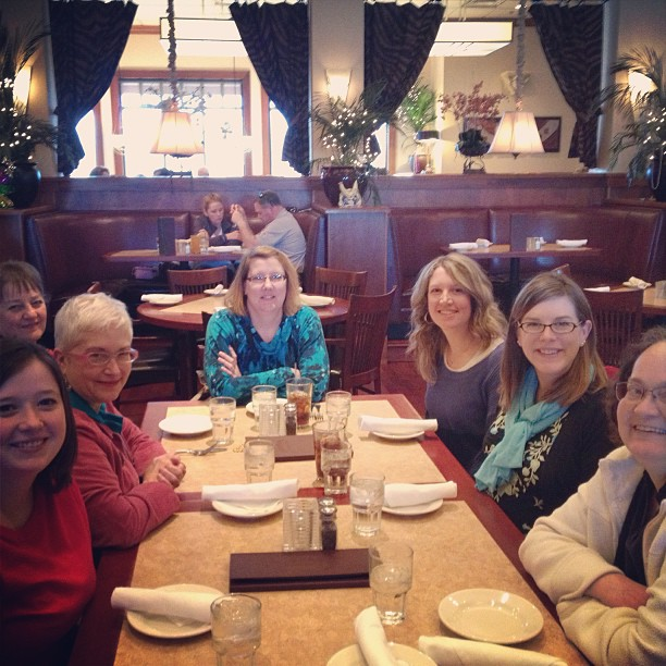 SIMPCO gals out to lunch!