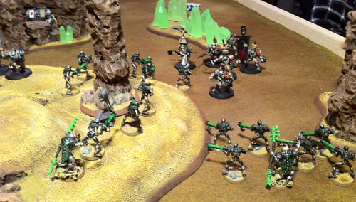 Necrons vs. Grey Knights