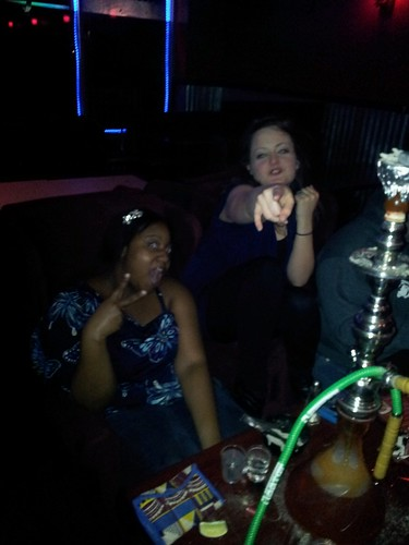 A fun night at the Hookah Bar