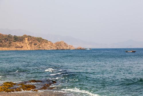 sea beach hotel coast boat seaside fishermen deluxe north korea korean dprk bunkers majon hamhung